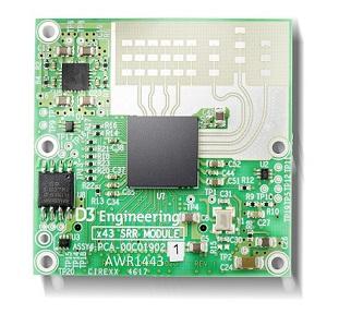 D3 Radar Module AWR1443