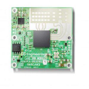 D3 Engineering Radar Module IWR1443