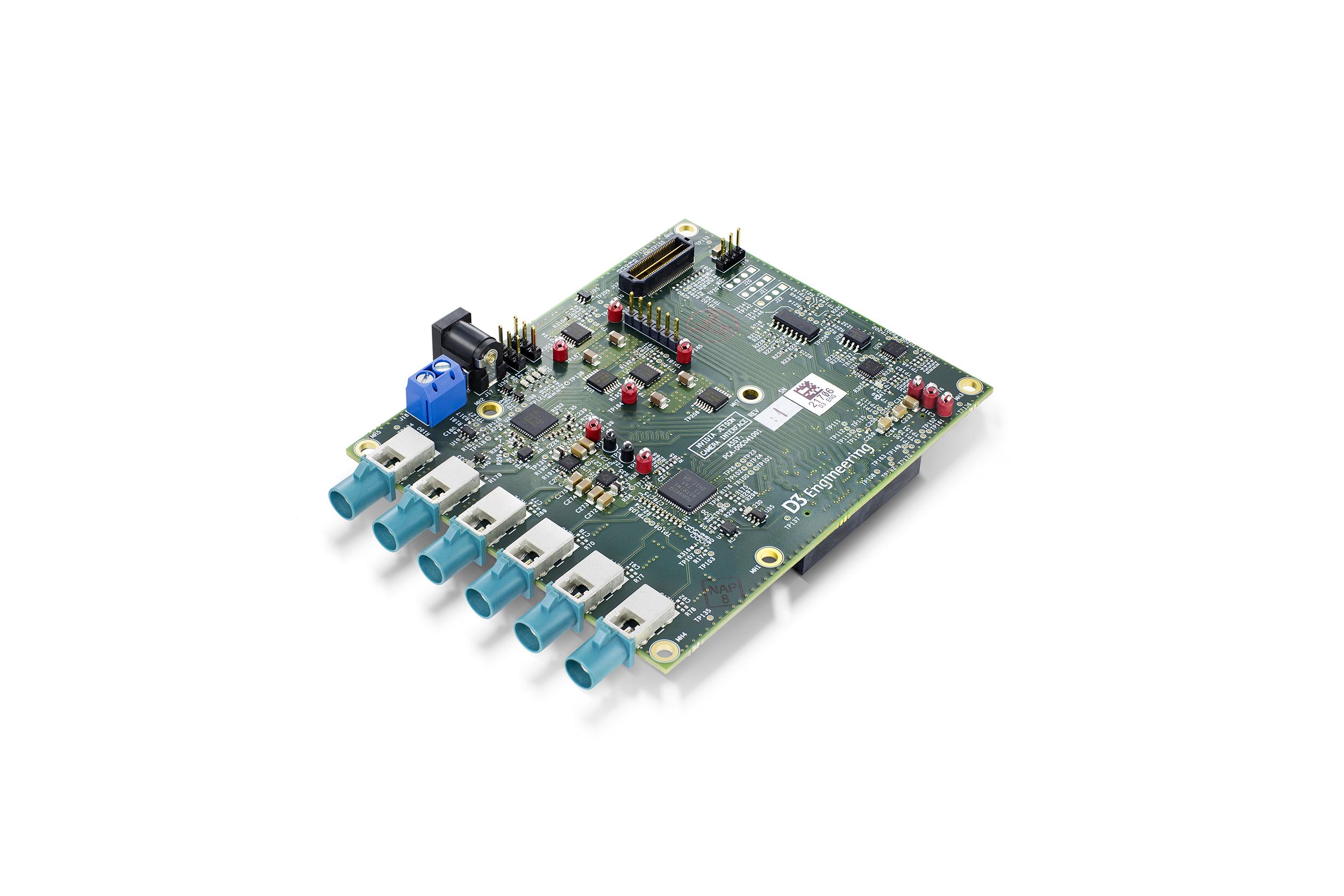 Multi Sensor SerDes card for NVIDIA Jetson TX1 TX2 Dev Kit
