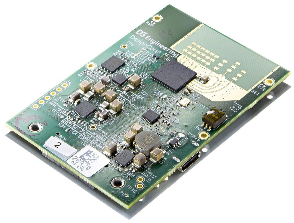 DesignCore® RS-1843A Automotive Radar Sensor Evaluation Kit