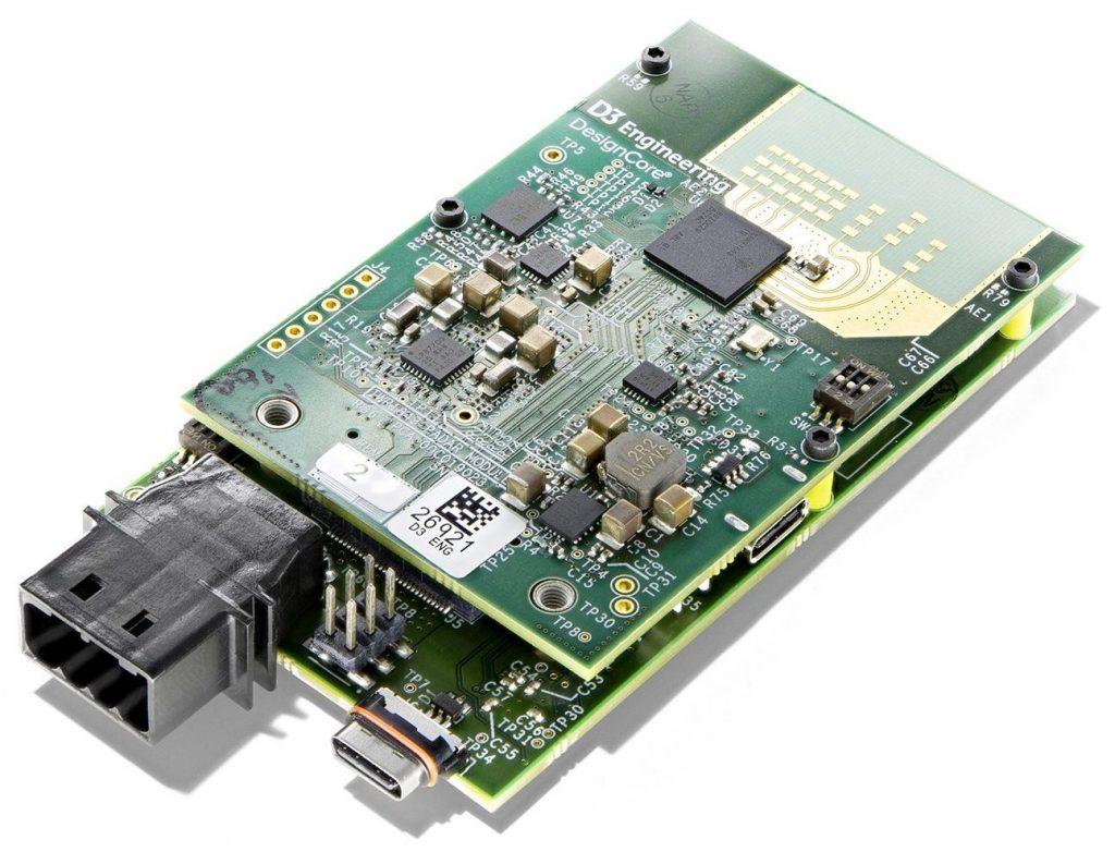 DesignCore® RS-1843ACW Automotive Radar Sensor CAN/WiFi Evaluation Kit