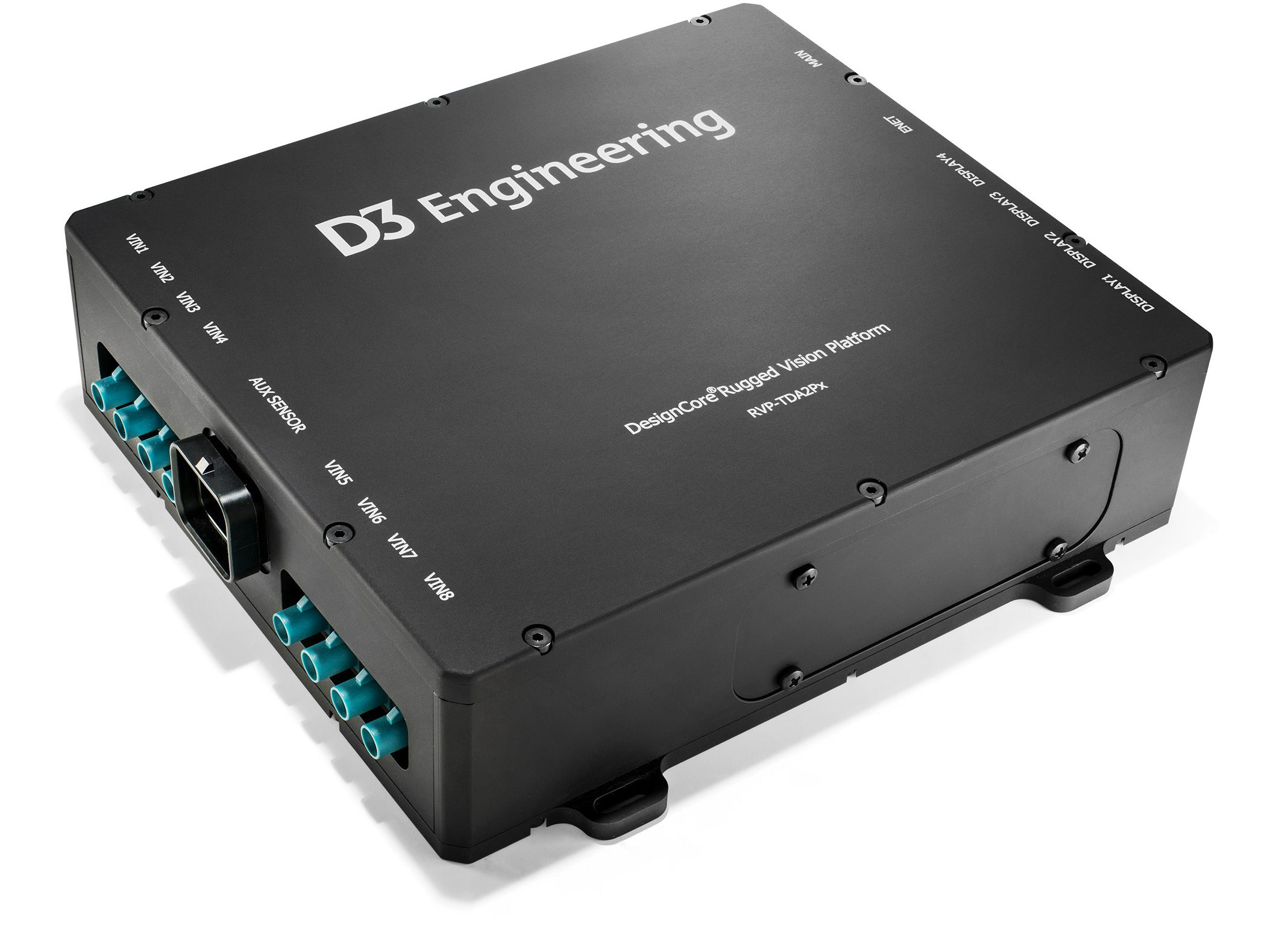 D3 Rugged Vision Platform with Texas Instruments TDA2Px processor
