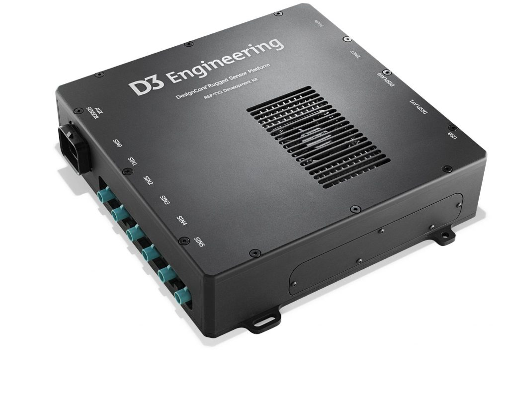 D3 DesignCore RSP-TX2 Rugged Sensor Platform Development Kit for NVIDIA TX2